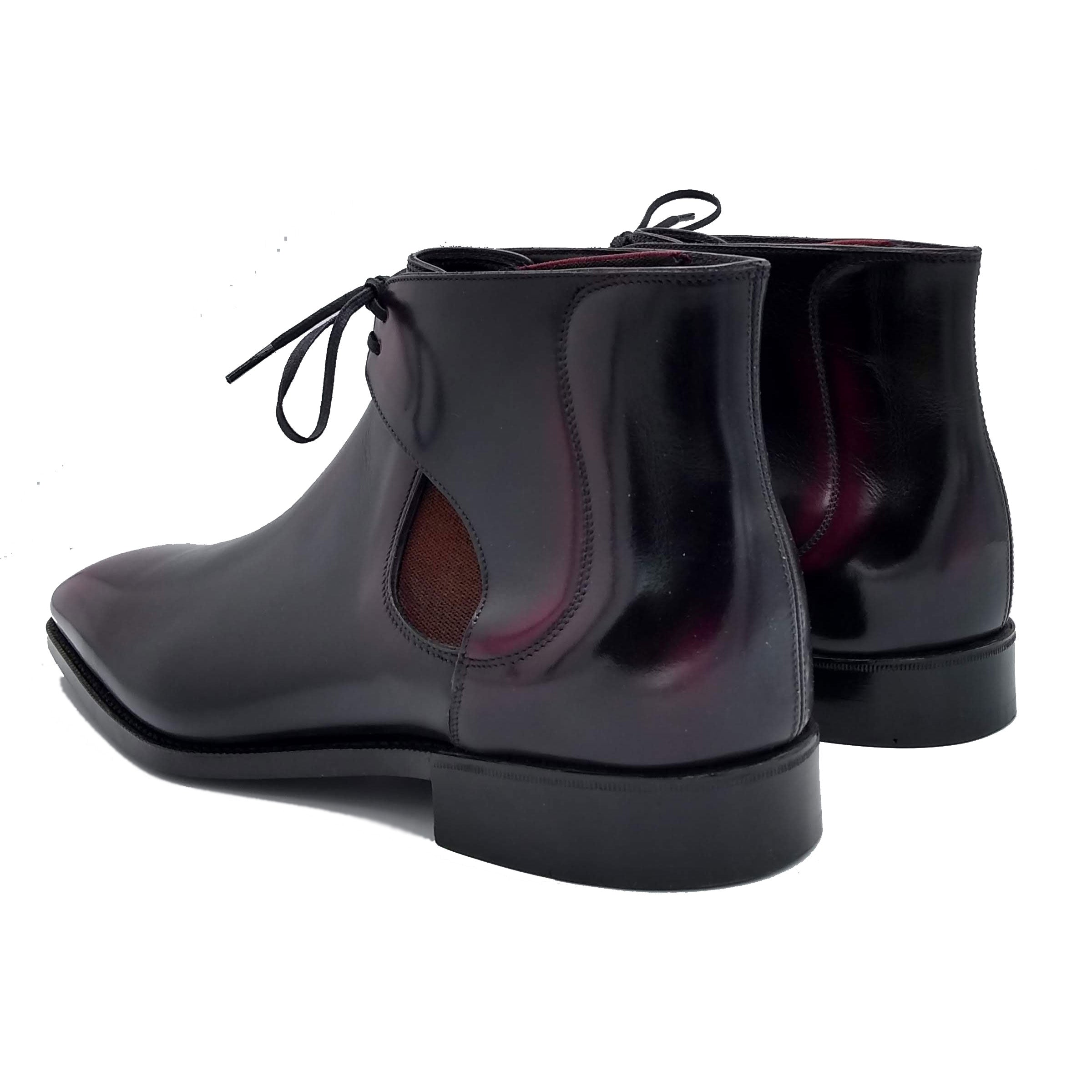Men's leather decon chelsea boots made in Spain
