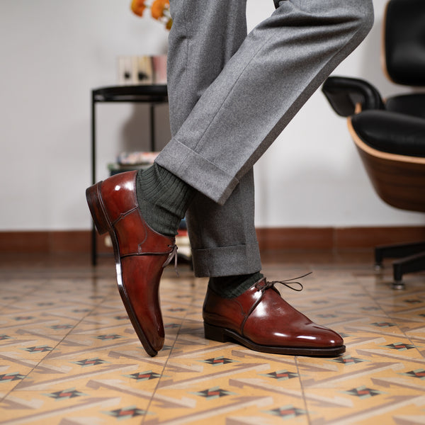 One Eyelet Derby by Norman Vilalta Bespoke Shoemakers