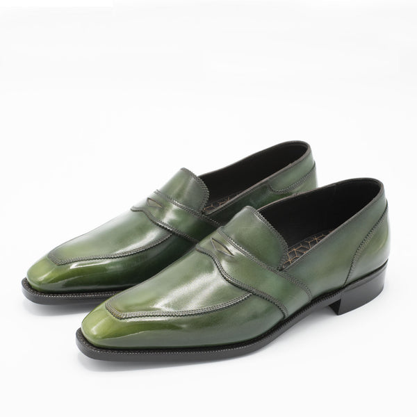James Loafer - Rosemary Handmade Patina