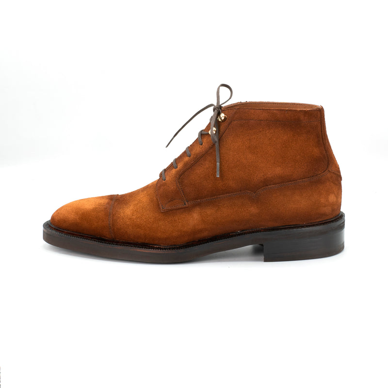 Ramon Cap Toe Derby Boot by Norman Vilalta Bespoke Shoemakers