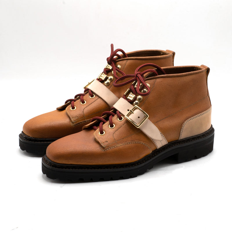 Sean Norwegian Welted Mountain Boot (Group-Made-to-Order) - Natural
