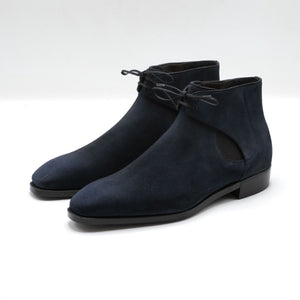 Decon Chelsea Boot - Midnight Blue Suede