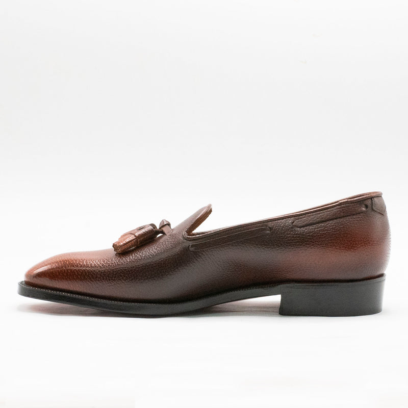 Joan Loafer (Made-to-Order) - 3D Brown Patina