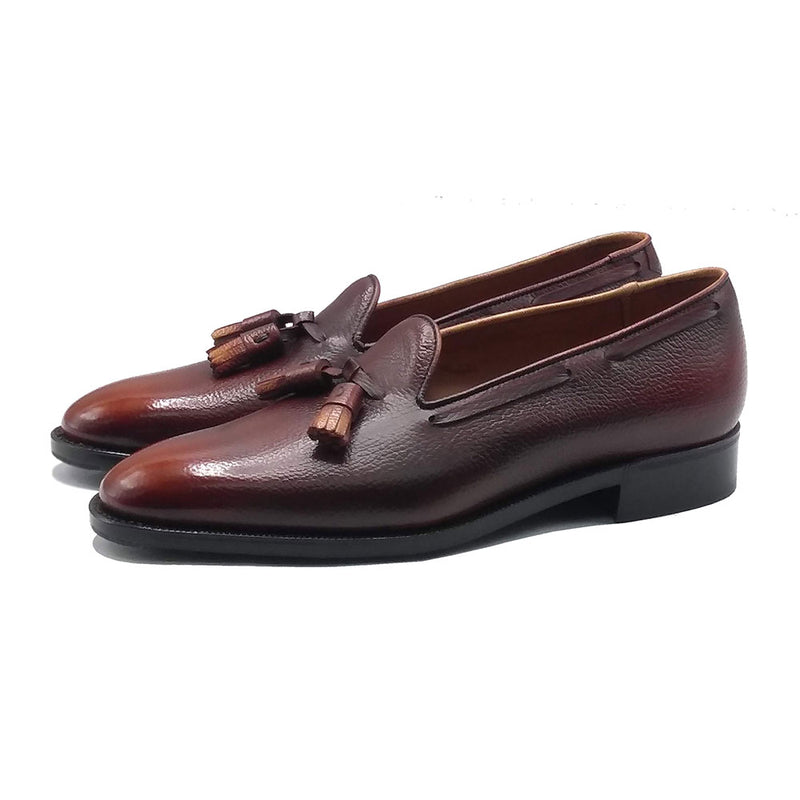 Tassel Loafer (Made-to-Order) - Mahogany Patina