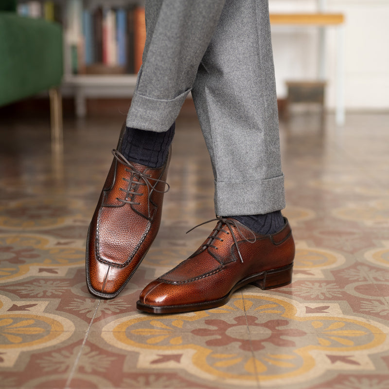 Tete Moc Toe Derby by Norman Vilalta Bespoke Shoemakers