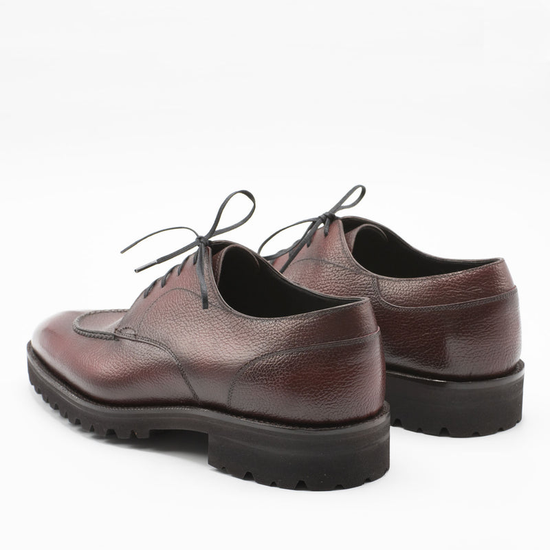 Gaspar Derby (Made-to-Order) - Bordeaux Grain Calf Leather