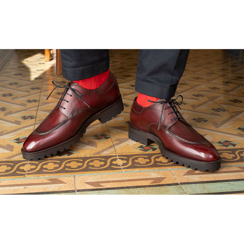 Balance payment for MTO Gaspar Derby - Bordeaux Grain Calf Leather