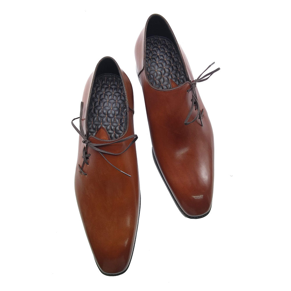 Wholecut Oxford Shoe (Group-Made-to-Order) - Cognac