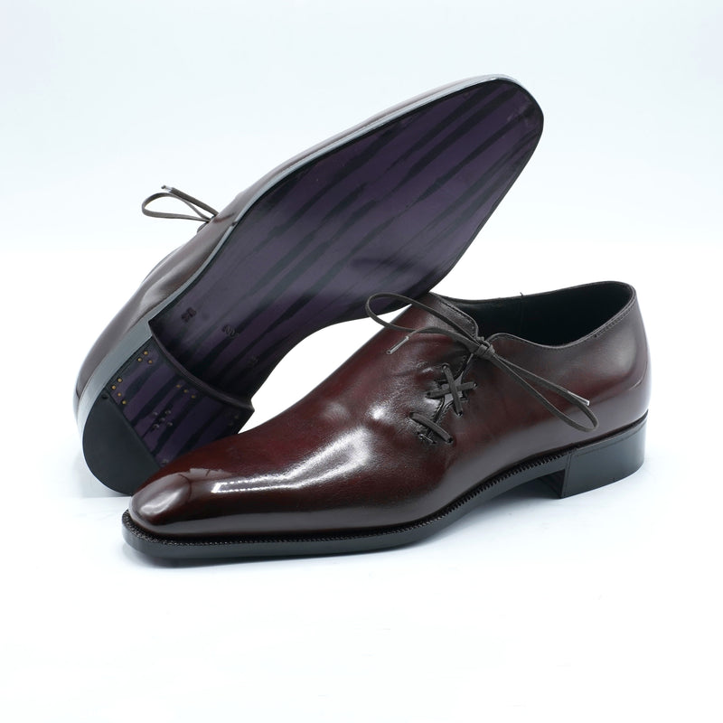 Wholecut oxford shoes made in Spain by Norman Vilalta in Barcelona