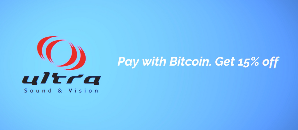 Pay with Bitcoin. Get an extra 15% Off!