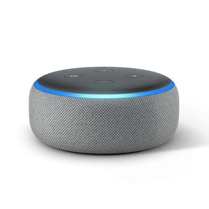 Amazon Wireless Speaker Amazon Echo Dot 3rd Generation Smart Speaker grey
