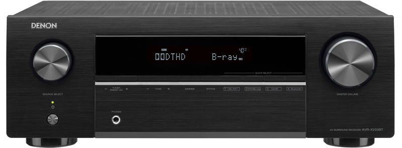 Denon AVR-X250BT 5.1 Channel AV Receiver - Ultra Sound & Vision