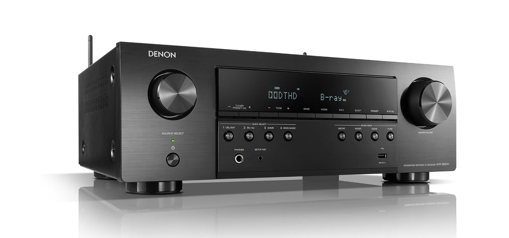 Denon AVR-S650H 5.2 Channel AV Receiver - Ultra Sound & Vision