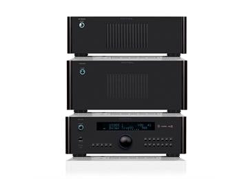 Rotel RSP1576 Processor with RMB1555 and RB1552II Power Amplifier Combo