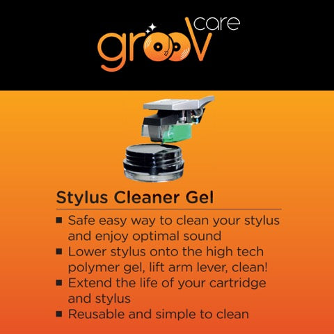 grooVcare Stylus Cleaner Gel - Ultra Sound & Vision