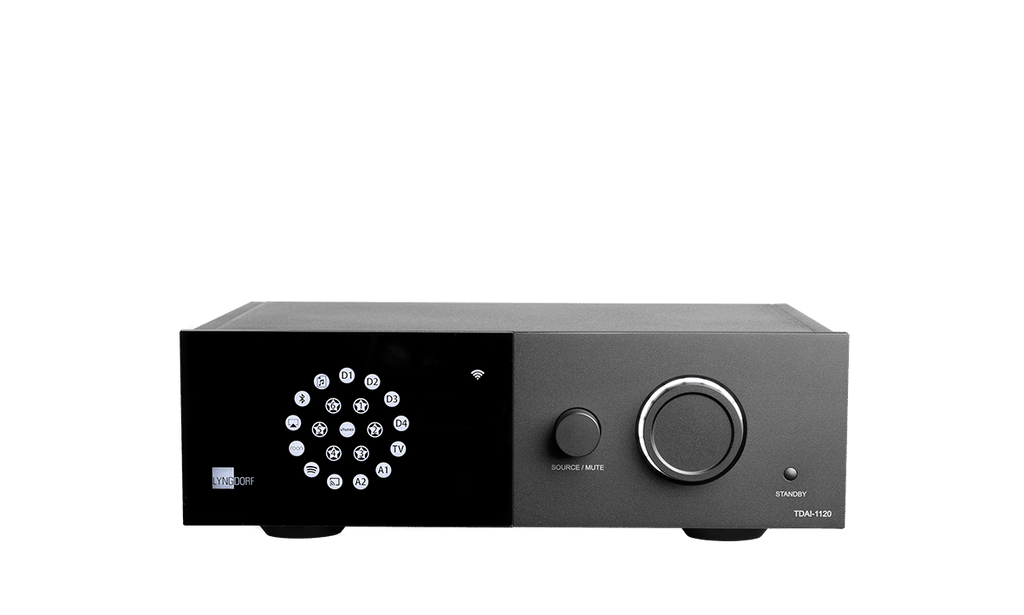 Lyngdorf TDAI-1120 Streaming Integrated Amplifier - Ultra Sound & Vision