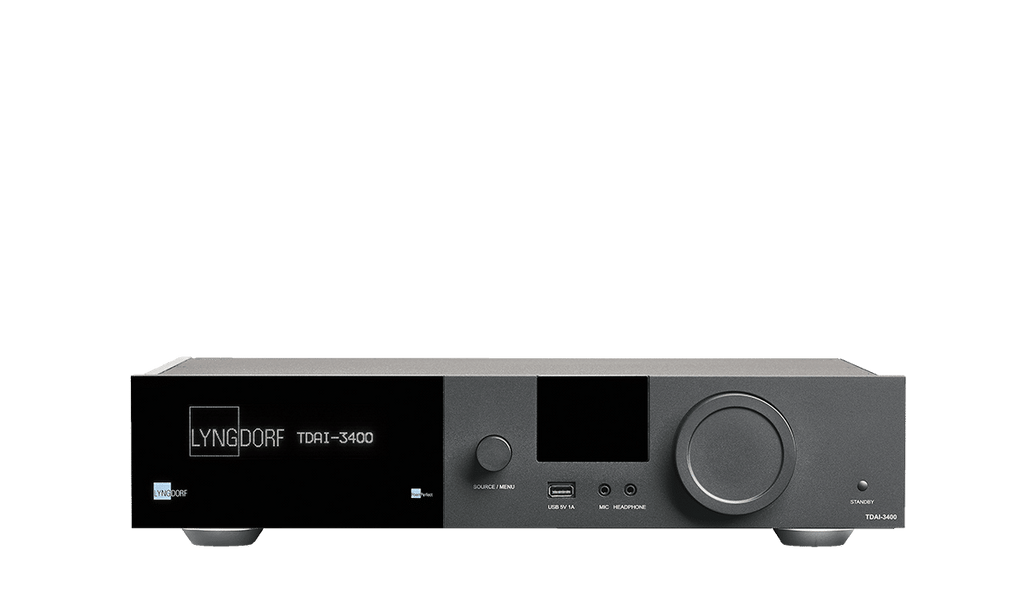Lyngdorf TDAI-3400 Integrated Amplifier and Audio Processor - Ultra Sound & Vision