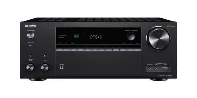Onkyo TX-NR686 7.2-Channel Network A/V Receiver front