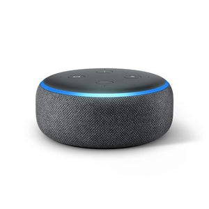 Amazon Wireless Speaker Amazon Echo Dot 3rd Generation Smart Speaker charcoal