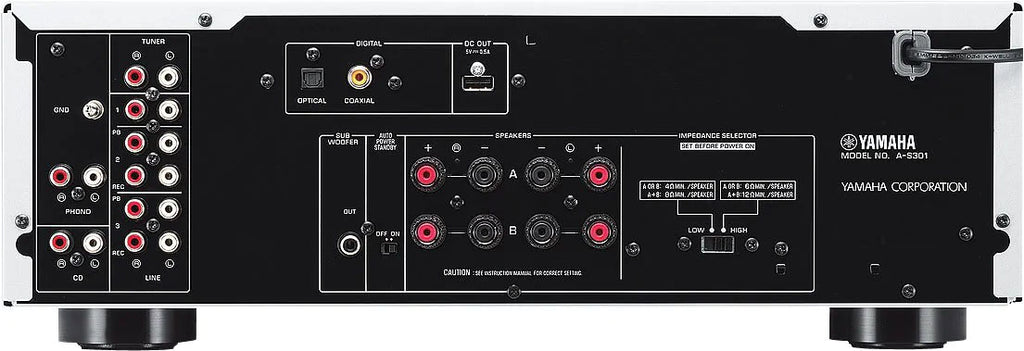 Yamaha A-S301 Integrated Amplifier - Ultra Sound & Vision