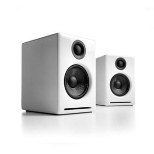 Audio Engine Powered Speaker Hi-Gloss White Audioengine 2+ Powered Desktop Speakers - Pair