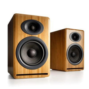 Audio Engine Bookshelf Speaker Bamboo Audioengine P4 Passive Bookshelf Speakers - Pair