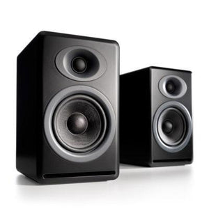 Audio Engine Bookshelf Speaker Satin Black Audioengine P4 Passive Bookshelf Speakers - Pair