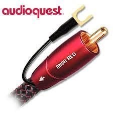 Audioquest Subwoofer Cable 5m Audioquest Irish Red Subwoofer Cable