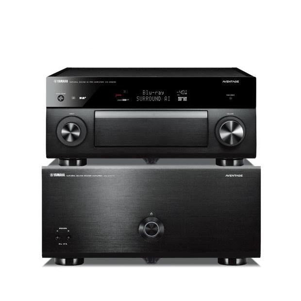 Yamaha 11 Channel AVENTAGE Pre-amplifier and Power amplifier Combo
