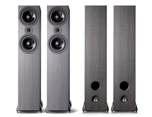 Cambridge Audio Floorstanding Speaker Black Cambridge Audio SX80 Floorstanding Speakers - pair