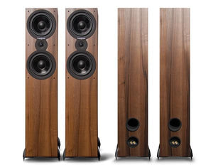 Cambridge Audio Floorstanding Speaker Walnut Cambridge Audio SX80 Floorstanding Speakers - pair