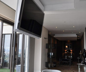 "Definition Automation TV Lift 60"" to 65"" Definition Automation Ceiling Flapout TV Lift"
