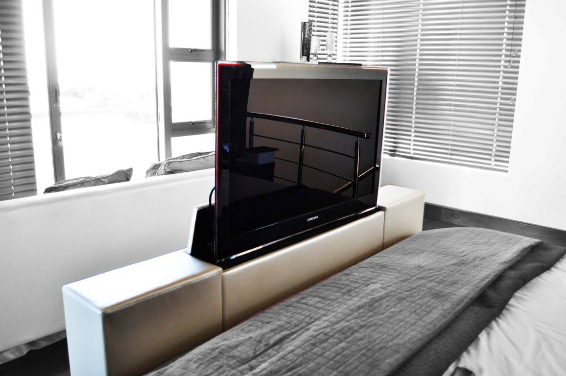 Foot Of The Bed definition automation foot of the bed tv lift