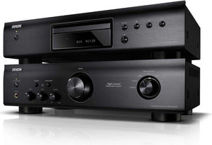 Denon Stereo Package Default Title / New Denon DCD-520 CD & PMA-520 Stereo Amplifier Combo - black