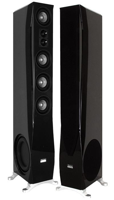 Earthquake Platine Noiree Floorstanding Speakers - Pair - Ultra Sound & Vision