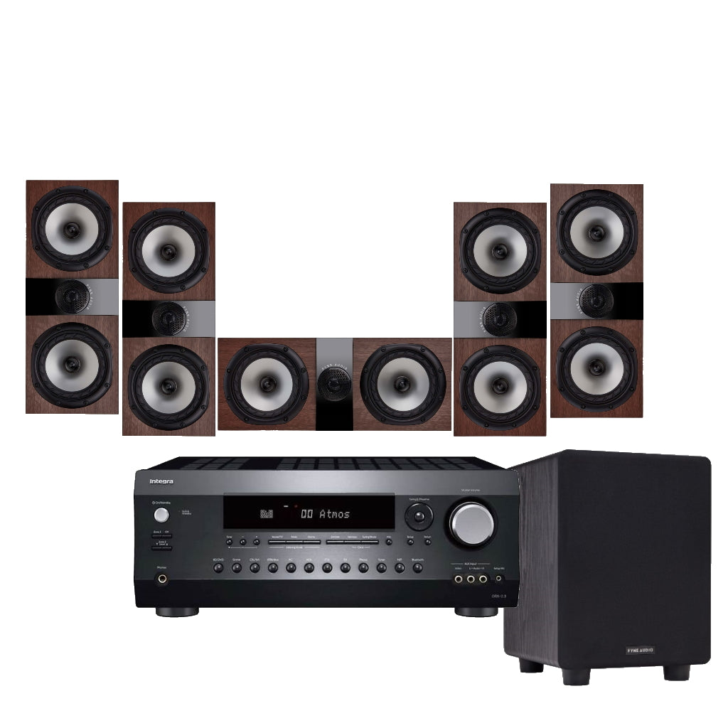 Fyne Audio F300LCR Cinema Package - Ultra Sound & Vision