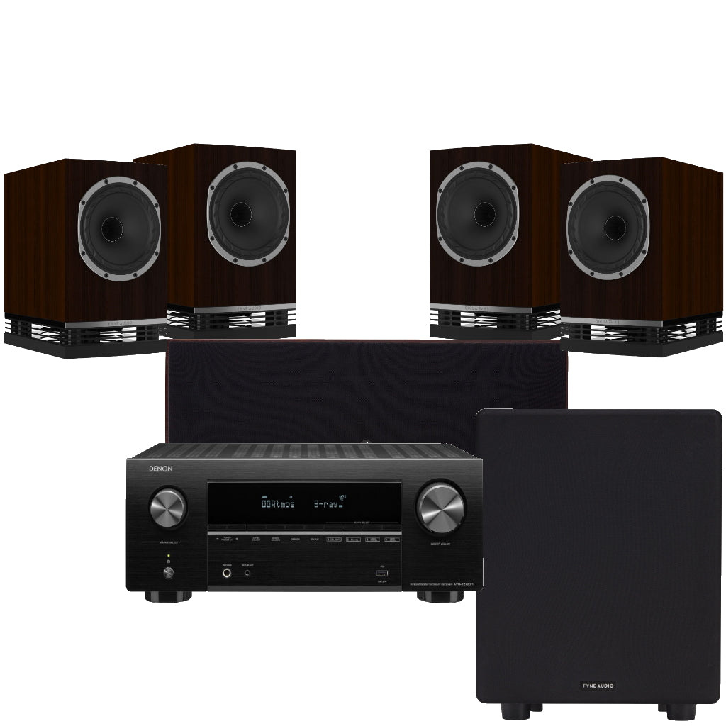 Fyne Audio F500 Cinema Package - Ultra Sound & Vision