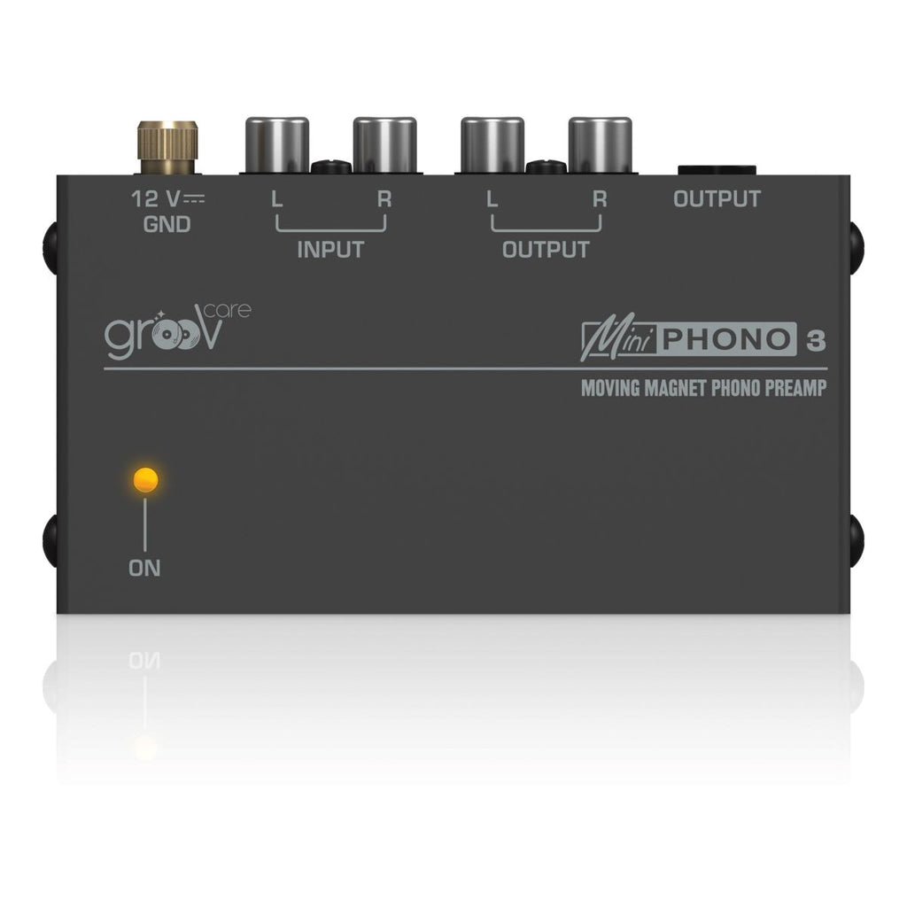 grooVcare Mini Phono 3 Pre Amplifier - Ultra Sound & Vision