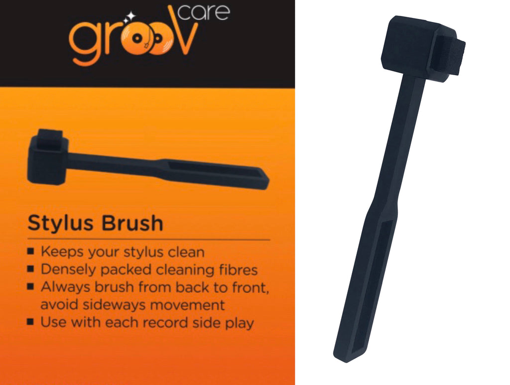 grooVcare Stylus Brush - Ultra Sound & Vision