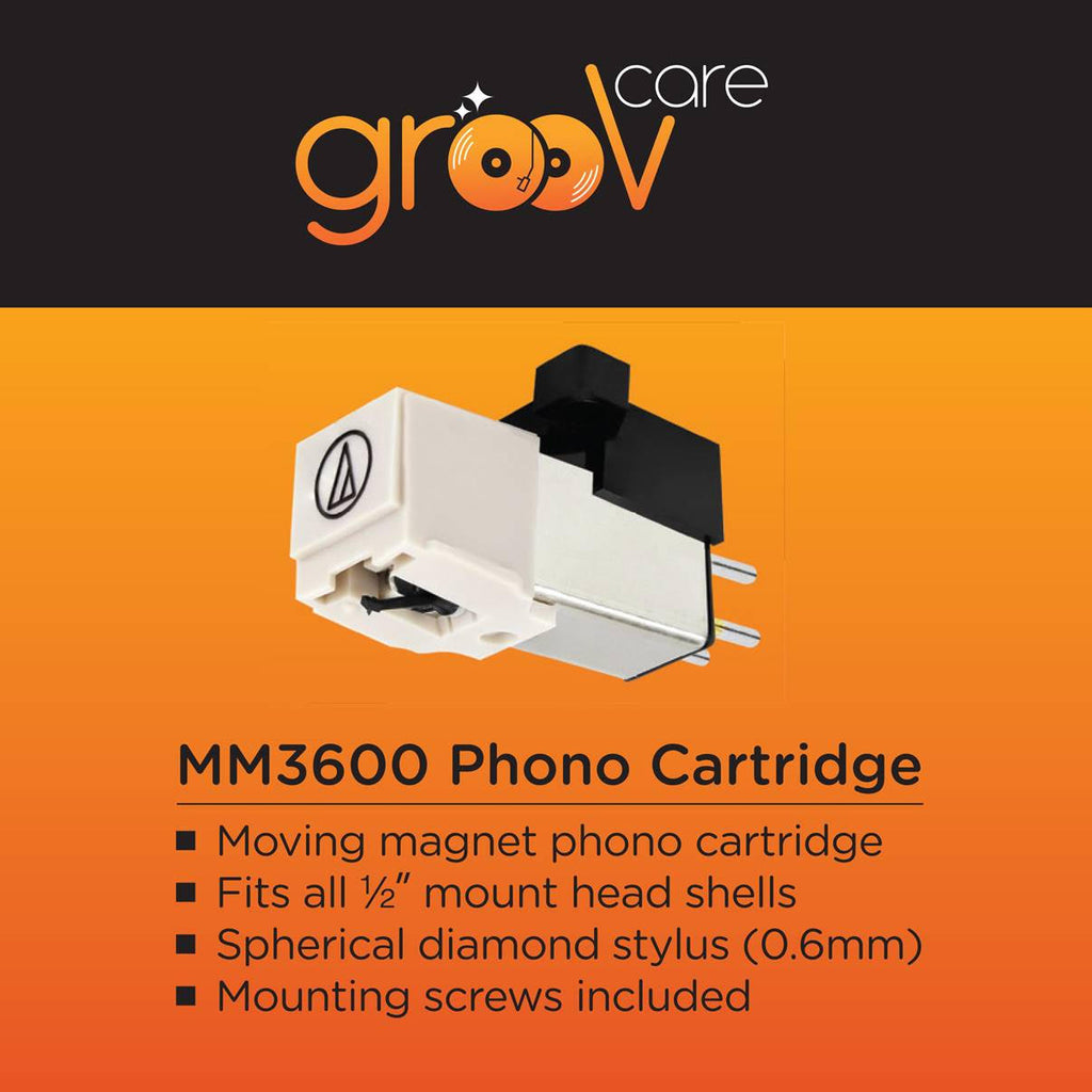 grooVcare MM3600 Moving Magnet Phono cartridge. - Ultra Sound & Vision