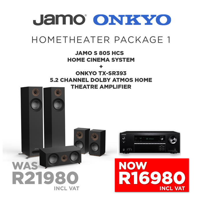 Onkyo & Jamo 5.0 Home Theatre Package