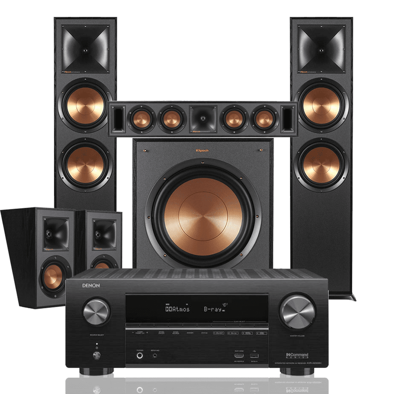 Klipsch Reference R-820F 5 1 Surround System