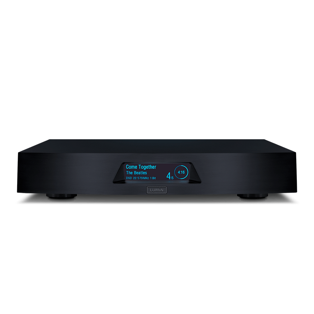 Lumin X1 Network Music Player - Ultra Sound & Vision