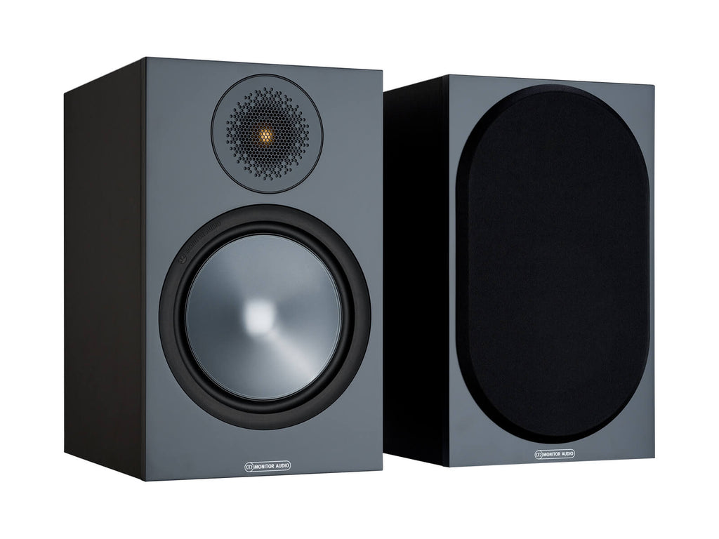 Monitor Audio Bronze 100 Bookshelf Speaker - Black - Ultra Sound & Vision