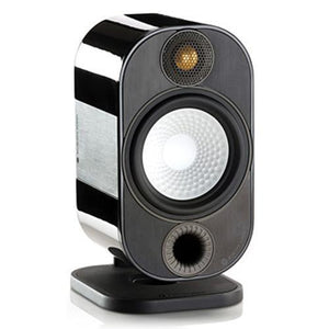 Monitor Audio Bookshelf Speaker Black Monitor Audio Apex A10 Satellite Speaker - Each