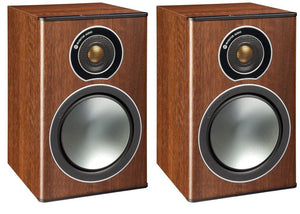 Monitor Audio Bookshelf Speaker Walnut Monitor Audio Bronze 1 Bookshelf Speaker - Pair