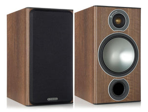 Monitor Audio Bookshelf Speaker Walnut Monitor Audio Bronze 2 Bookshelf Speakers - Pair