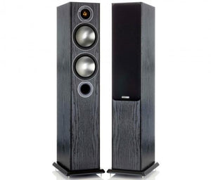 Monitor Audio Floorstanding Speaker Black Oak Monitor Audio Bronze 5 Floorstanding Speaker - Pair