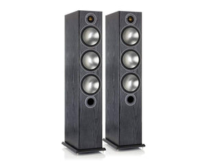 Monitor Audio Floorstanding Speaker Black Oak Monitor Audio Bronze 6 Floorstanding Speakers - Pair