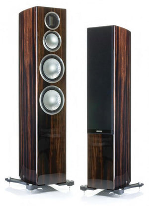 Monitor Audio Floorstanding Speaker Walnut Monitor Audio Gold 300 Floorstanding Speaker - Pair